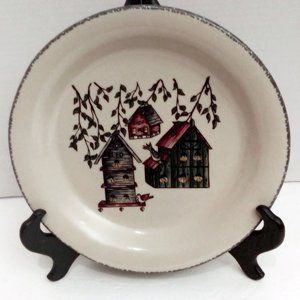 Hand Made Dinner Plate by Home and Garden